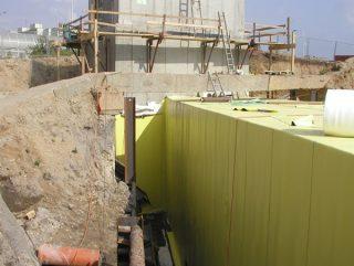 fatrafol ground membrane, Хидростоп