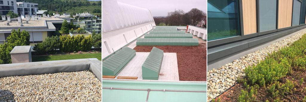 green roofs 1, Хидростоп