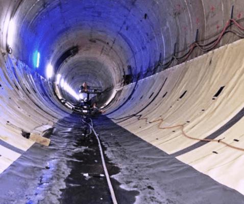 тунел 3, Хидростоп